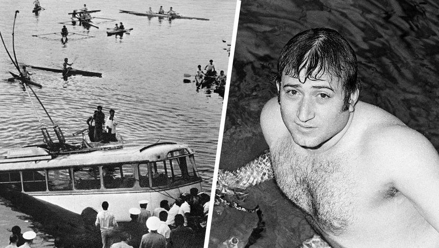 Как пловец Карапетян спас пассажиров утонувшего троллейбуса