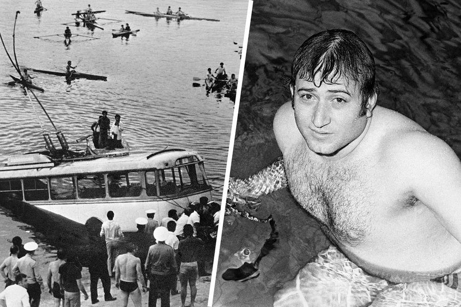 Троллейбус, который упал вЕреванское водохранилище (1976 год) и Шаварш Карапетян (1983 год)
