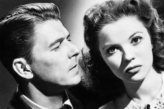 Рональд Рейган и Ширли Темпл в фильме «Эта девушка из Хагена» (1947)