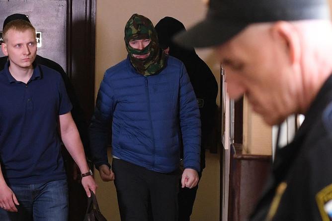 Александр Воробьев в Лефортовском суде Москвы, 5 июля 2019 года