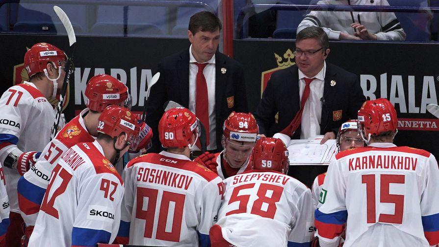 Сборная России по хоккею, Алексей Кудашов