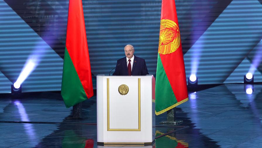 Президент Белоруссии Александр Лукашенко во время обращения к гражданам страны, 4 августа 2020 года