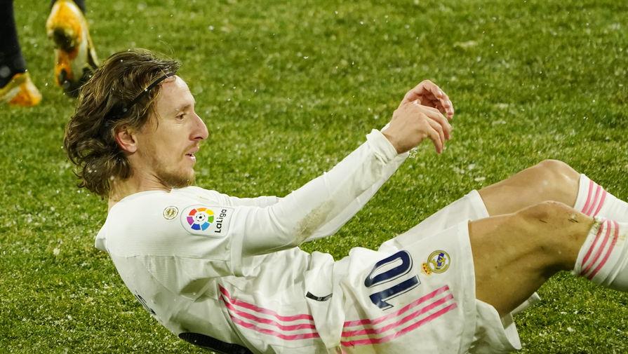 Лука Модрич в составе «Реала»