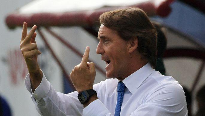 Команде Роберто Манчини предстоит непростой матч в Скопье