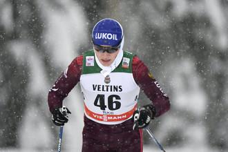 Российская лыжница Юлия Шаповалова