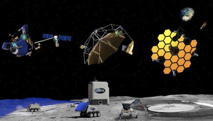 В интересах Пентагона: США начинают стройку в космосе и на Луне