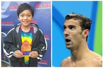 10-летний пловец Кларк Кент и легендарный американец Майкл Фелпс