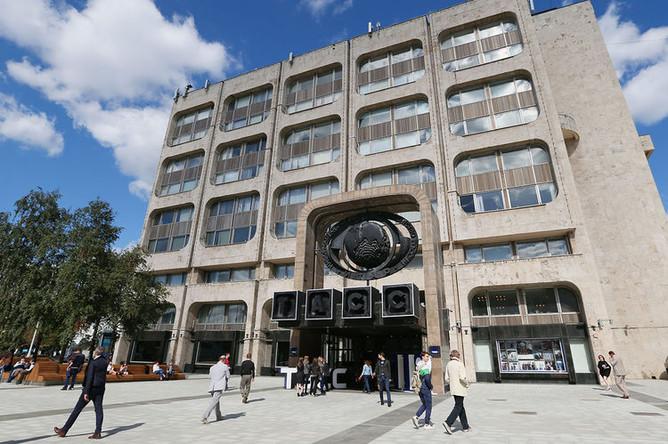 Здание информационного агентства ТАСС на Большой Никитской улице