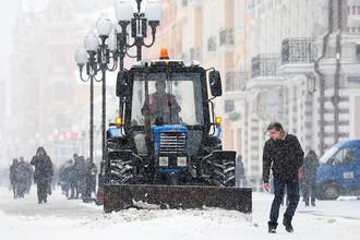Снегопад, который начался в Москве в четверг стихнет только к вечеру субботы
