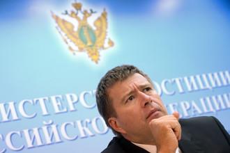 Министр юстиции Александр Коновалов