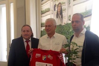 Австрийский футбольный клуб «Винер Виктория» заключил спонсорство с компанией, производящей коноплю