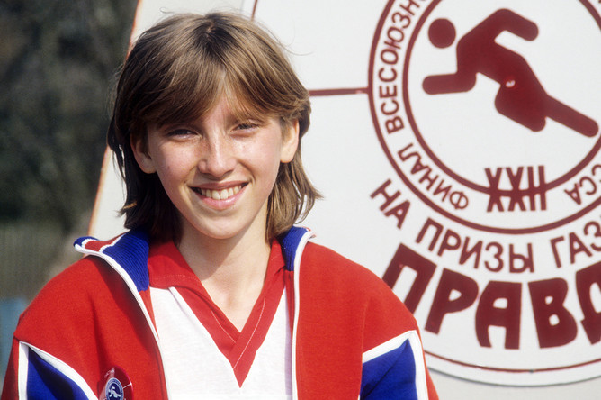 Светлана Мастеркова, 1983 год
