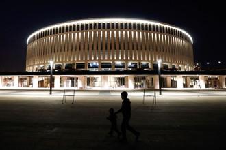 Стадион «Краснодар» ночью