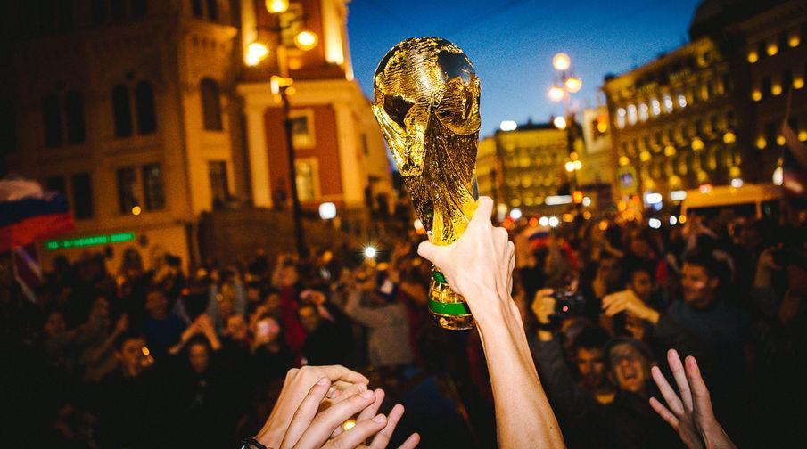 Как россияне празднуют победу над Египтом