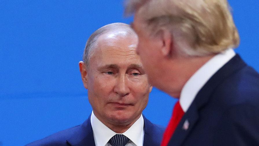Опрос: немцы верят Путину в три раза больше, чем Трампу