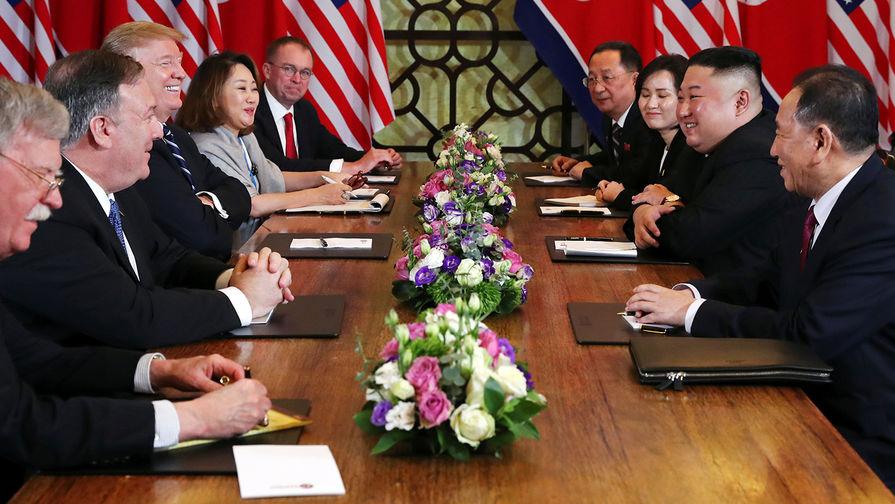Washington Post сочла «дипломатическим провалом» Трампа встречу с Ким Чен Ыном