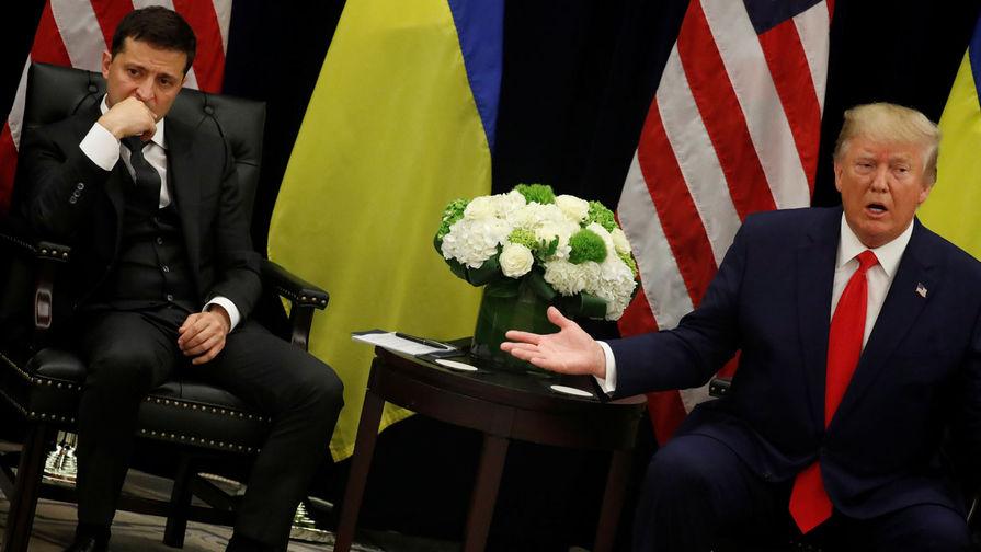 The Hill: Трамп заморозил военную помощь Украине после разговора с Зеленским