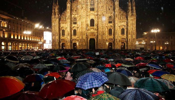 «Вся страна в кризисе»: глава МИД Италии разжег протесты