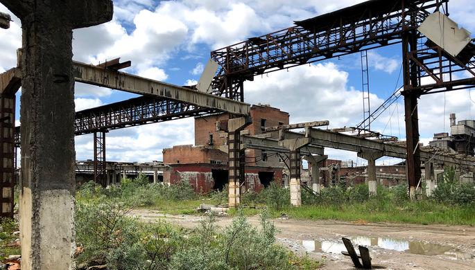На территории предприятия химической промышленности «Усольехимпром», июль 2019 года