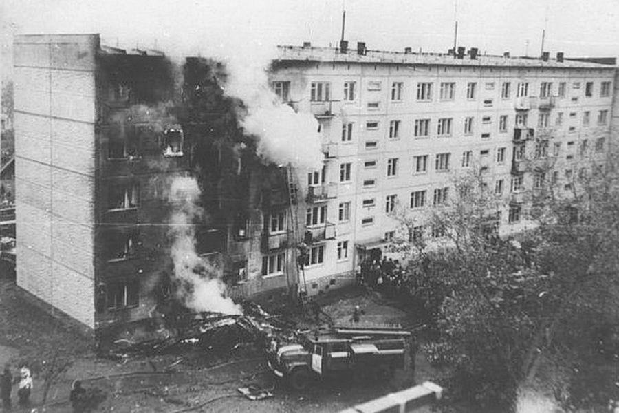 Последствия тарана жилого дома самолетом Ан-2, 26сентября 1976года