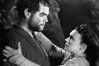 Кадр из фильма «Макбет», режиссер Орсон Уэллс (1948)