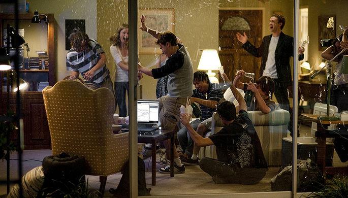 Кадр из фильма «Социальная сеть» (2010)
