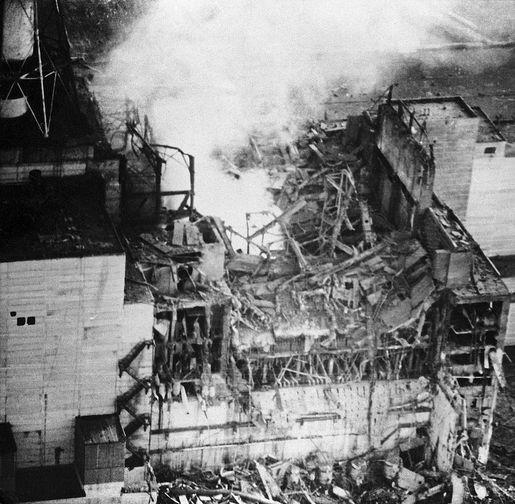 Последствия взрыва на Чернобыльской АЭС, апрель 1986 года