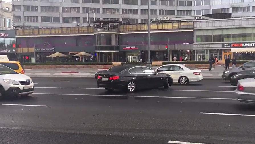 Кадр из видео с места ДТП. Источник: Алексей Нарышкин / «Эхо Москвы»