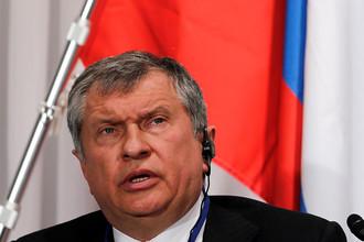 Глава «Роснефти» Игорь Сечин во время инвестиционного форума в Токио, 2014 год