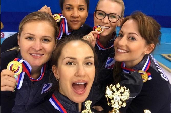 Женская сборная России по керлингу (команда Анны Сидоровой)
