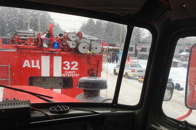 Последствия аварии под Петербургом, 17 февраля 2018
