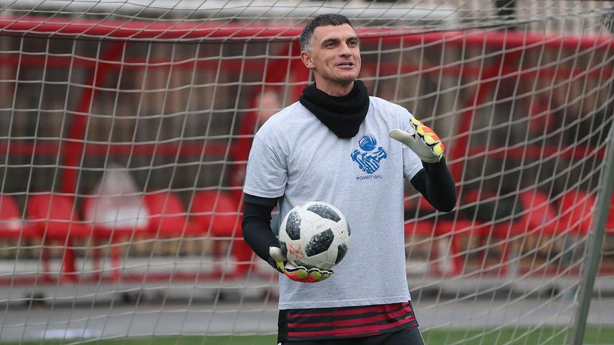 Вратарь национальной сборной Владимир Габулов, 2018 год