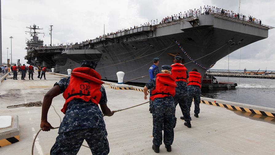Иран пообещал пустить корабли США на дно