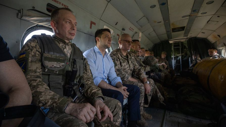 В 400 метрах от линии фронта: Зеленский приехал в Донбасс