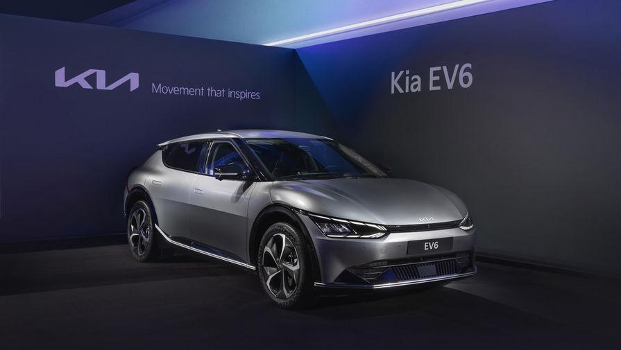 Kia начнет в России продажи электрокара EV6 в 2022 году