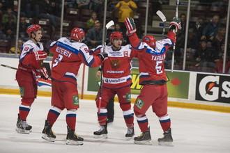 Молодежная сборная России добилась успеха в Суперсерии