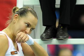 Надежда Петрова по-прежнему опускается в рейтинге и чемпионской гонке WTA