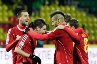 Тульский «Арсенал» не без труда, но все же одержал победу над «Газовиком»