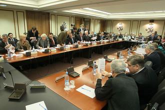 Заседании комиссии Общественной палаты