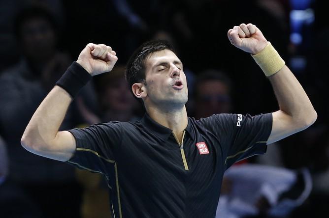 Несмотря на визуальную легкость победы, радость Новака Джоковича от этого меньше не стала