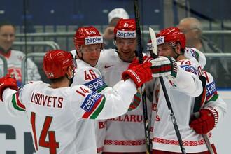 Сборная Белоруссии вышла на третье место в турнирной таблице группы В на чемпионате мира по хоккею