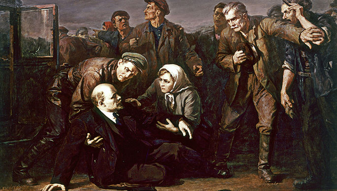 Покушение на главу большевистского правительства Ленина совершила член партии эсеров Фанни Каплан 30 августа 1918 года после выступления Ленина на заводе Михельсона в Петрограде. Ленин был тяжело ранен — считается, что ранение ухудшило его состояние, повлияли последствия покушения