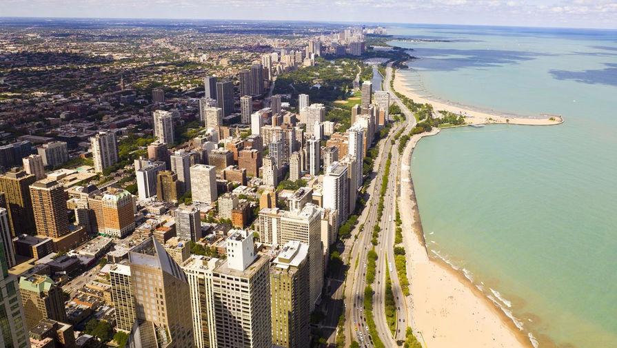 Lake Shore Drive в Чикаго, США
