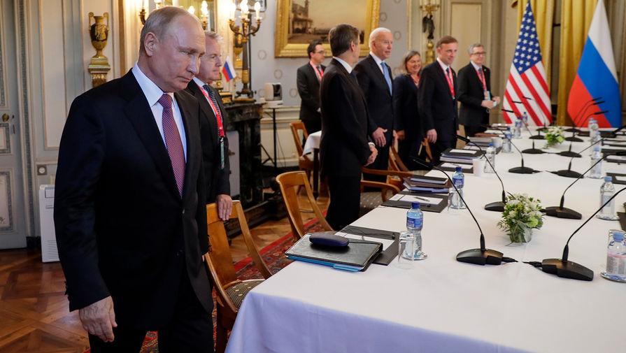Путин считает, что нечего обсуждать в вопросе вступления Украины в НАТО