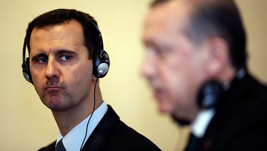 Поддерживает террористов: Асад обвинил Эрдогана