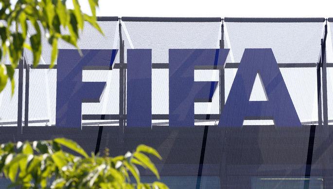 Президент ФИФА Джанни Инфантино выступает на конференции ФИФА в Лондоне