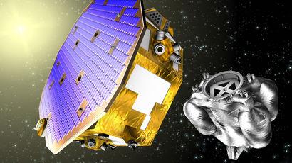 В космос запущен аппарат для будущего поиска гравитационных волн