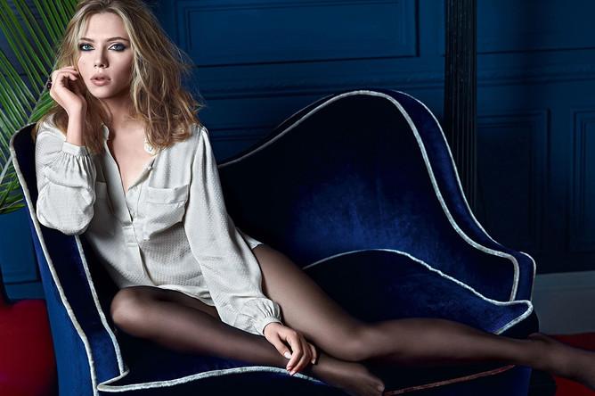 Скарлетт Йоханссон, актриса и певица, самая желанная женщина по версии нескольких мужских изданий
