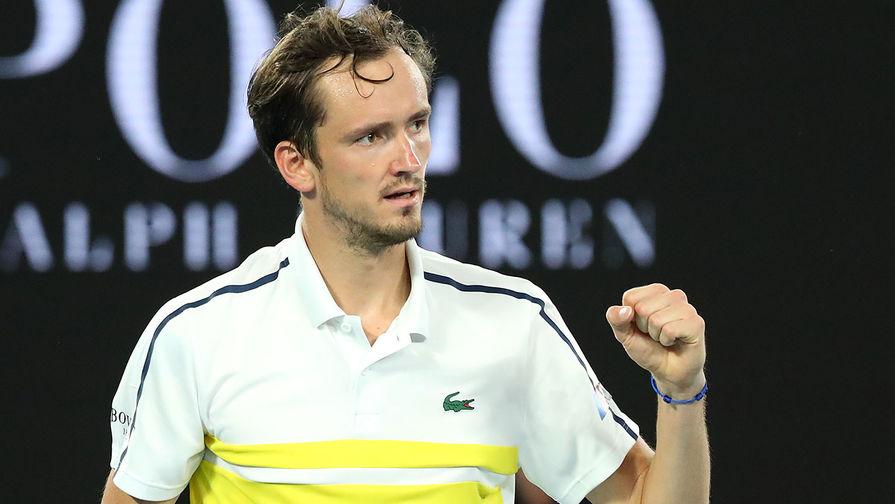 Теннисист Медведев может стать первой ракеткой мира через две недели