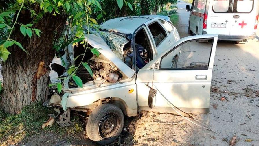 Пьяный подросток попал в аварию в Ростовской области